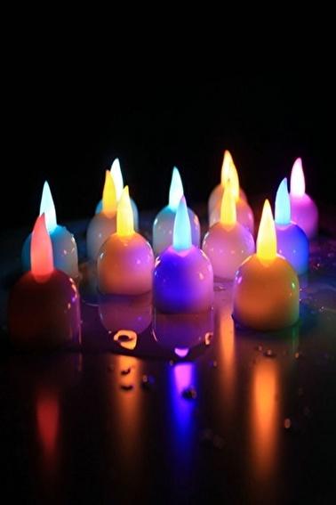 Arma House Suda Yanan 6'lı Renk Değiştiren Led Işık Renkli